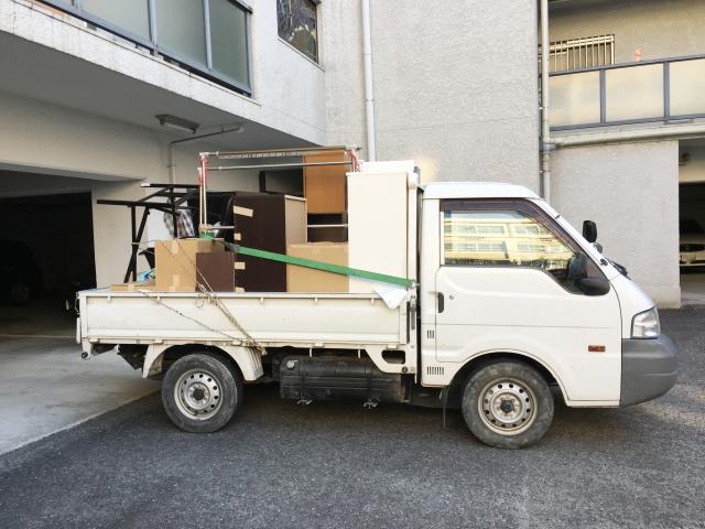大量の不用品回収は軽トラック積み放題の業者がおすすめ!